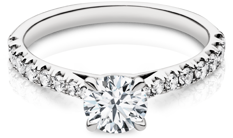 Kimberfire Diamond Engagement Ring