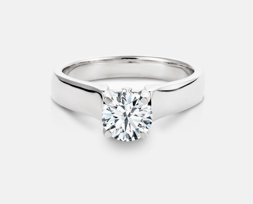 ZAZ54 Solitaire Engagement Ring