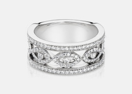 SAZ87X Diamond Ring